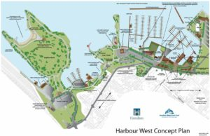Harbour West Marina Concept Plan | North South Yacht Sales
