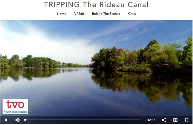 TRIPPING The Rideau Canal, A TVO documentary